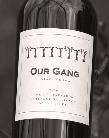 2009 Our Gang Cabernet Sauvignon bottle shot